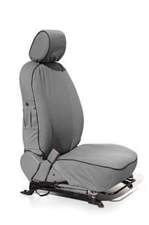 Picture of KB DMAX Double Cab 04/2013 to present: front & rear seats(leather)