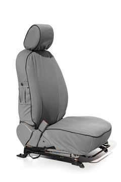 Picture of Wrangler Unlimited 4-door 2007 to 2010: front & rear seats